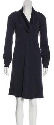 Diane von Furstenberg Wool Knee Length Dress