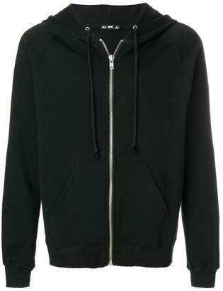 BLK DNM rear logo print hoodie