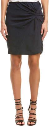 Maison Scotch Scotch & Soda Twisted Knot Pencil Skirt