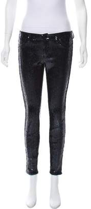 Blank NYC Mid-Rise Sequin Pants
