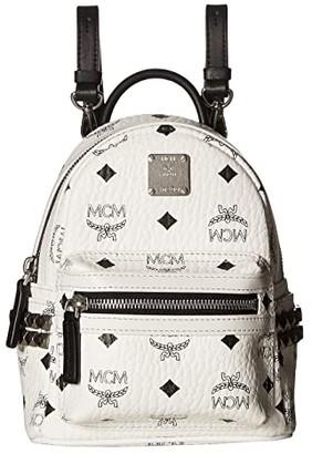 MCM Stark Side Stud X-Mini Backpack