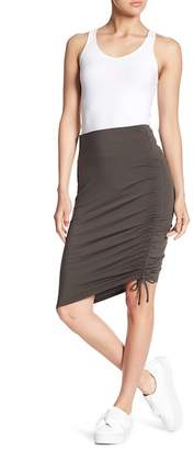 Susina Drawstring Pencil Skirt