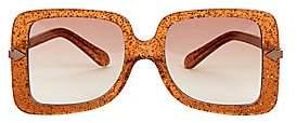 Karen Walker Women's Eden Supernova 53MM Square Sunglasses