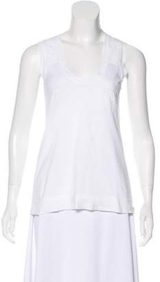 Louis Vuitton Embroidered Sleeveless Top