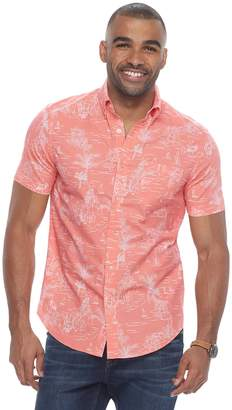 Sonoma Goods For Life Men's SONOMA Goods for Life Flexwear Modern-Fit Poplin Button-Down Shirt