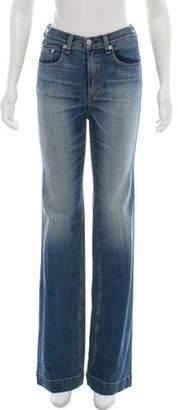 Rag & Bone Flared Mid-Rise Jeans