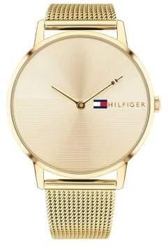 Tommy Hilfiger Alex Stainless Steel Mesh Bracelet Watch