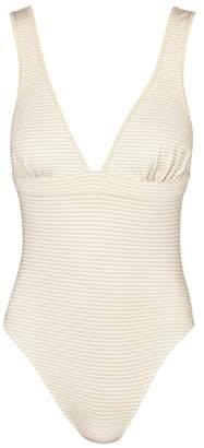 Marysia Swim Harbour Island Striped Reversible Swimsuit
