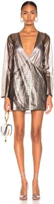 Atoir for FWRD One Of These Nights Dress in Metallic Pewter | FWRD