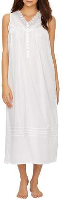 Eileen West Lawn Ballet Woven Night Gown, XL