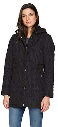 Weatherproof Women's Quilted Hooded Walker
