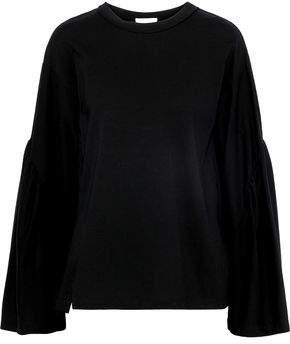 3.1 Phillip Lim Cutout Cotton-Jersey Top
