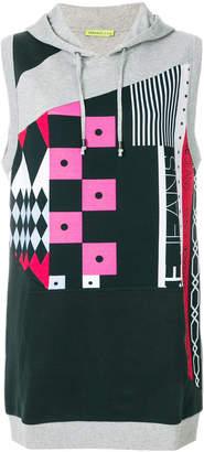 Versace sleeveless hoodie