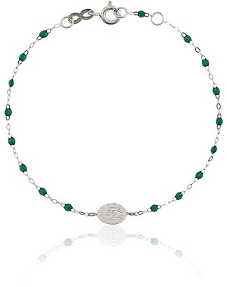 Gigi Clozeau green madone diamond and white gold bracelet