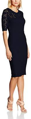 Lindy Bop Women's Valentine Navy Dress, Blue