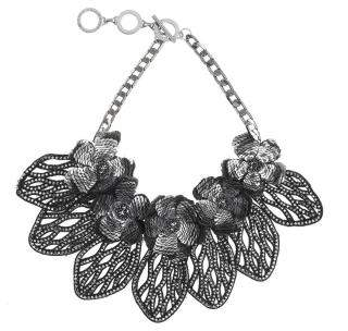 Forest of Chintz Crystal Fiore Necklace