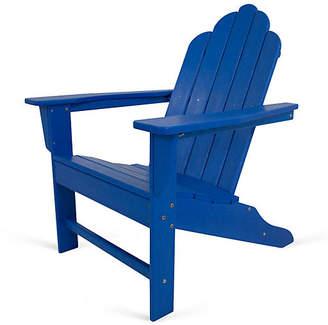 Polywood Long Island Adirondack - Pacific Blue