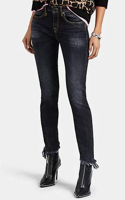 R 13 Women's Allison Skinny Jeans - Black