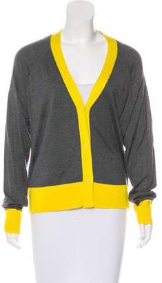Robert Rodriguez Silk Long Sleeve Cardigan w/ Tags