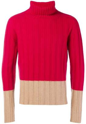 Piombo Mp Massimo roll neck sweater