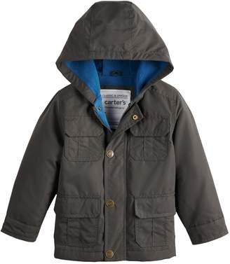 Carter's Toddler Boy Fleece Lined Midweight Hooded Jacket