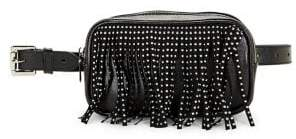 Steve Madden Studded Fringe Belt Bag