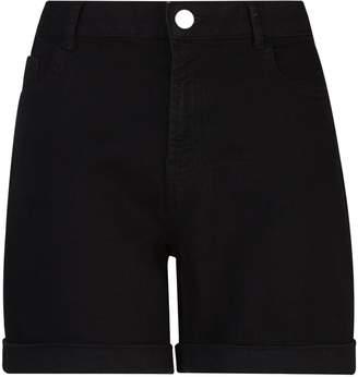f438a2081b Dorothy Perkins Womens **Tall Black Denim Shorts