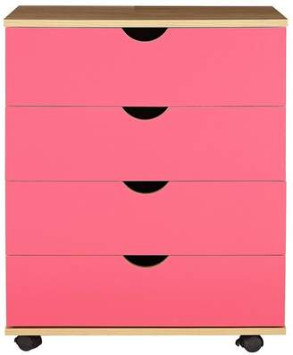 Kidspace Milo Kids Chest Of 4 Drawers