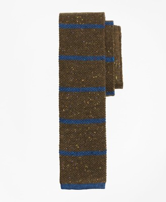 Brooks Brothers Stripe Donegal Knit Tie