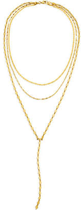 Lana 14k Kite Blake Remix Y-Drop Necklace