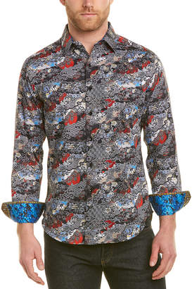 Robert Graham Brynwood Classic Fit Woven Shirt