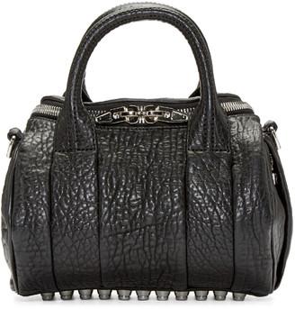 Alexander Wang Black Mini Rockie Bag $595 thestylecure.com