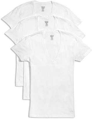 1c564908ebdb 2xist Slim Fit Deep V-Neck Tee, Pack of 3