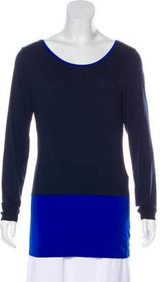 HUGO BOSS Boss by Long Sleeve Knit Top