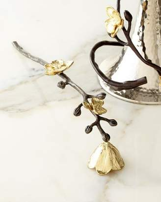 Michael Aram Gold Orchid Candle Snuffer
