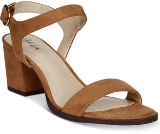 Style&Co. Style & Co Mollee Block-Heel Sandals, Created for Macy's Women's Shoes