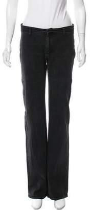 Helmut Lang Mid-Rise Wide-Leg Jeans