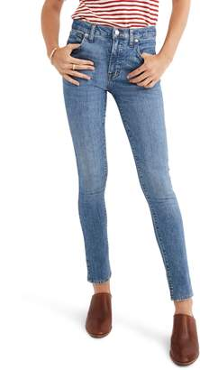 Madewell 9-Inch High Waist Stretch Skinny Jeans
