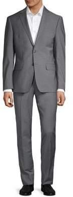 Calvin Klein Sharkskin Stretch Suit