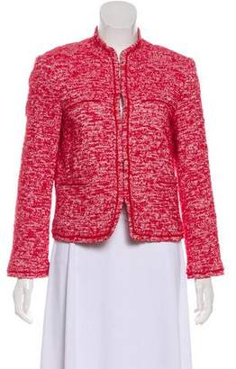 Alice + Olivia Textured Structured Jacket