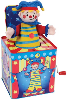 Schylling Kohl's Silly Circus Jack-In-Box Toy