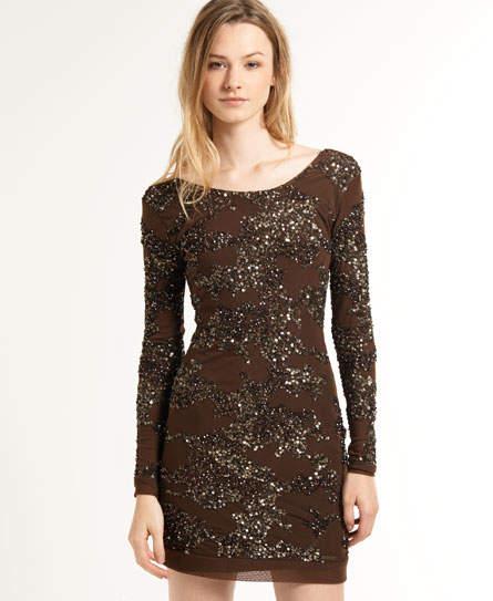 Camo Luxe Dress
