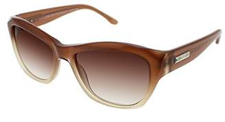 BCBGMAXAZRIA Women's Spectacular Rectangular Sunglasses