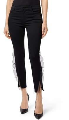 J Brand 835 Split Hem Crop Skinny Jeans