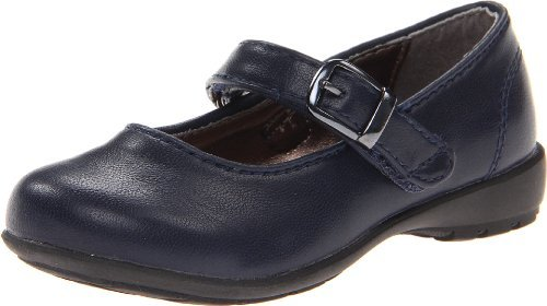 Kenneth Cole Reaction Fly School JR Rubber Mary Jane (Toddler/Little Kid/Big Kid),Navy,8.5 M US Toddler