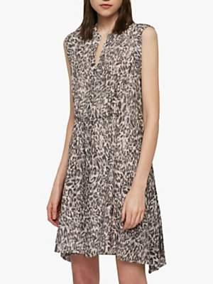 AllSaints Clari Kara Dress, Light Pink