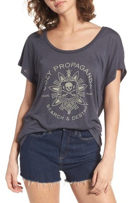 Women's Obey Think & Create Graphic Tee $33 thestylecure.com
