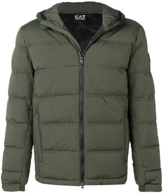 Emporio Armani Ea7 hooded padded jacket