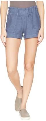 Allen Allen Stripe Shorts Women's Shorts