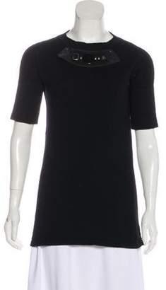 Marni Cashmere Knit Sweater Black Cashmere Knit Sweater